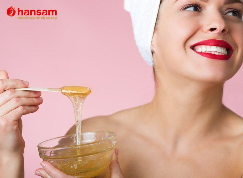 6 ưu điểm đặc biệt của sâm ngâm mật ong với sắc đẹp của phụ nữ