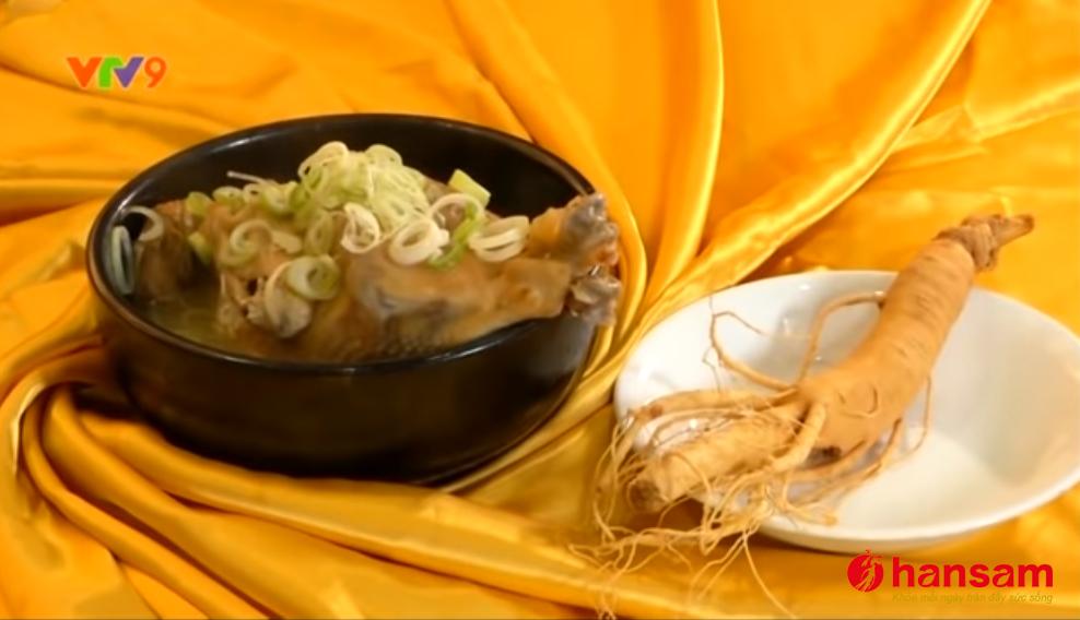 Nhân sâm Hàn Quốc nguồn dinh dưỡng vàng (Nguồn VTV)